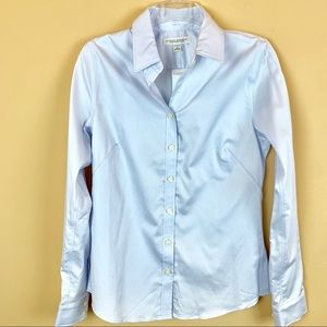 New Banana Republic non-iron fitted stretch shirt